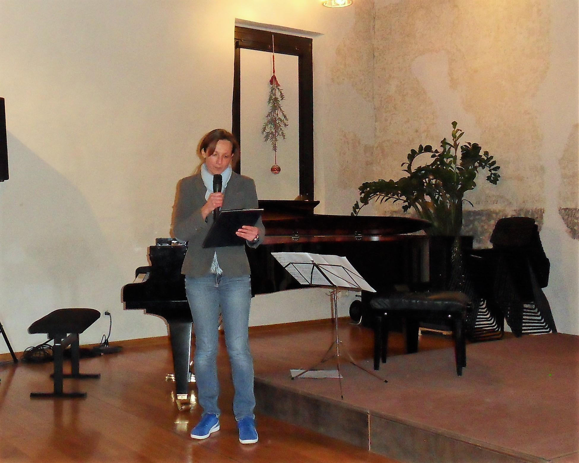 La presidente Katja Dellore