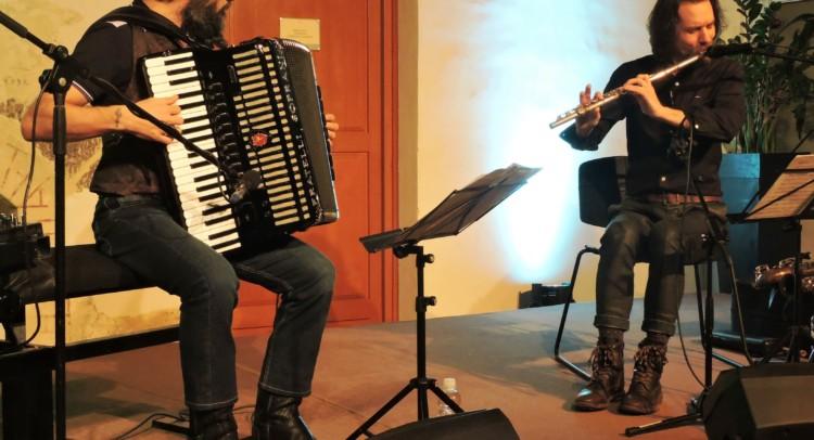 Vasko Atanovski e Simone Zacchini in concerto a Palazzo Manzioli