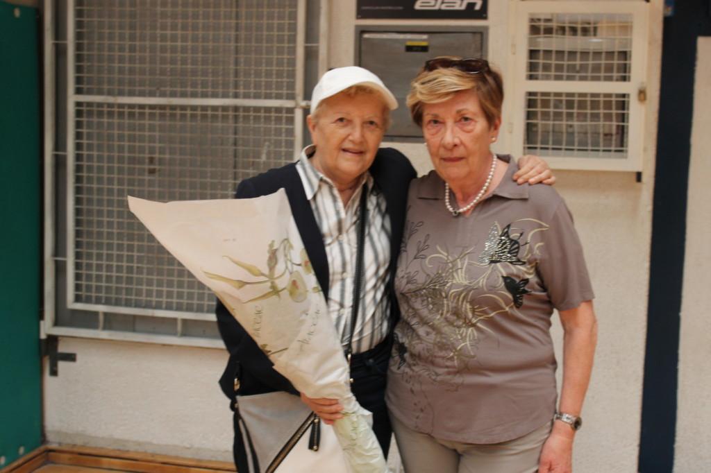 Maria Pia Degrassi con Amina Dudine