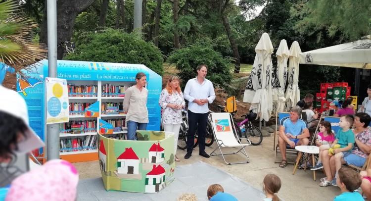 La biblioteca a Punta Gallo 2
