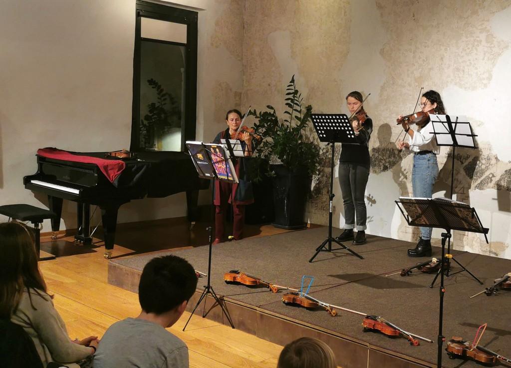 Trio di viole