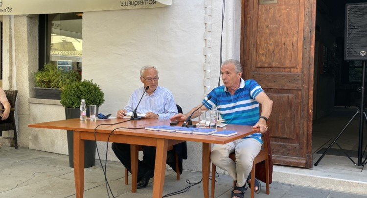 Marino Maurel e Enzo Santese